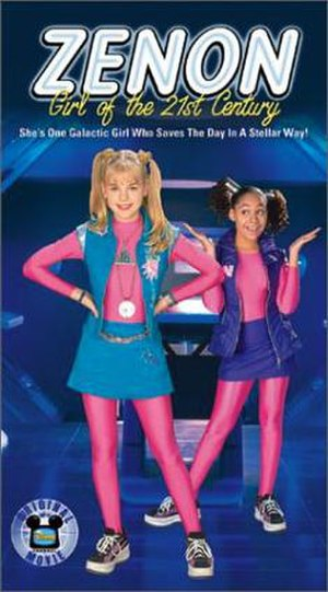 Zenon: Girl of the 21st Century (film) - VHS cover