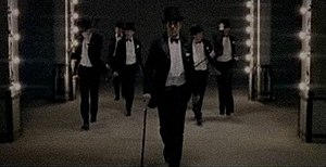 "Black and Gold - Sam Sparro dancing with his look-a-likes, from the second music video for ""Black and Gold""."
