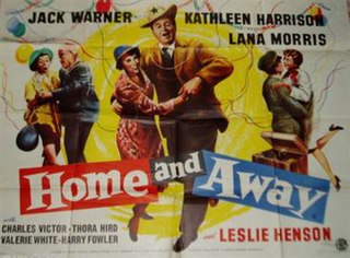 <i>Home and Away</i> (film) 1956 film by Vernon Sewell