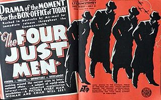 <i>The Four Just Men</i> (1939 film) 1939 film by Walter Summers