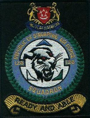 126 Squadron, Republic of Singapore Air Force - Image: 126Sqn shoulder patch