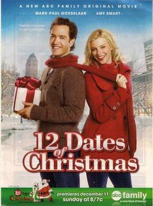12 Dates of Christmas - Film advertisement