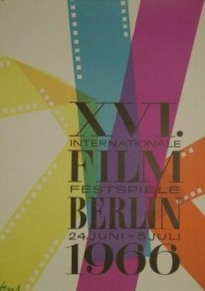 16th Berlin International Film Festival - Festival poster