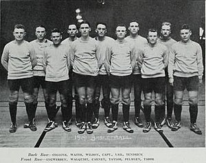 1919–20 Illinois Fighting Illini men's basketball team - Image: 1919 20 Fighting Illini men's basketball team