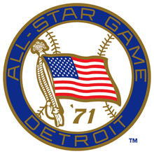 1971 Major League Baseball All-Star Game logo.png