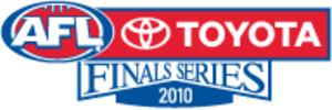 2010 AFL finals series - Logo for the 2010 AFL finals series