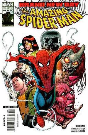 Spider-Man: Brand New Day - Image: ASM558 COV2