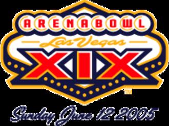 ArenaBowl XIX - Image: Ab 19logosf