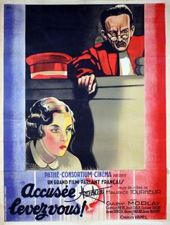<i>Accused, Stand Up!</i> 1930 film by Maurice Tourneur