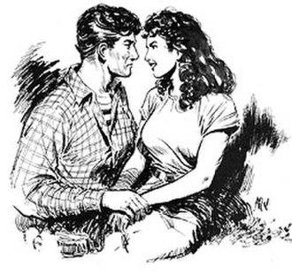 Al Williamson - Late 1940s sketch
