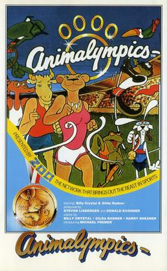 Animalympics - VHS cover for UAV release