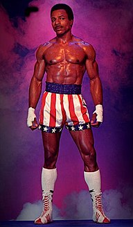 Apollo Creed fictional character from the Rocky films