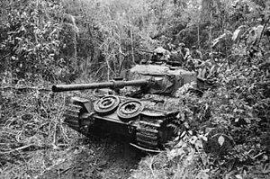 Battle of Long Khanh - Australian Centurion tank, Operation Overlord June 1971.