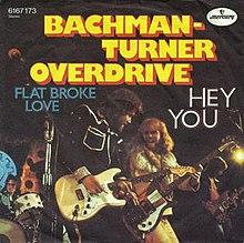 BACHMAN-TURNER OVERDRIVE - HEY YOU LYRICS