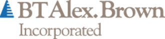Bankers Trust - BT Alex. Brown logo in use between 1997 and 1999 following its acquisition of Alex. Brown & Sons