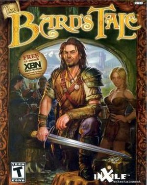 The Bard's Tale (2004 video game) - Xbox cover art
