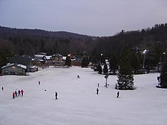 The Ski Sundown base area