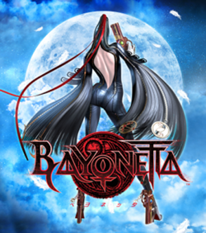 Bayonetta - Cover art used in Asia for the original release and internationally for the Wii U release