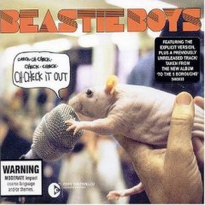 Ch-Check It Out - Image: Beastie Boys Ch Check It Out CD cover