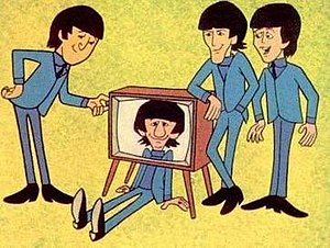 The Beatles (TV series) - John, Ringo, George, and Paul as cartoon characters.
