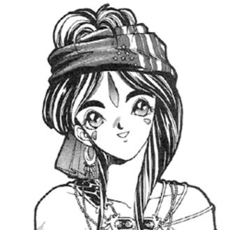 Belldandy - Image: Belldandy (Manga) cropped v 1 p 7