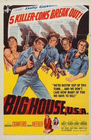 Big House, U.S.A. - Theatrical release poster