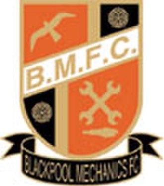 A.F.C. Blackpool - Blackpool Mechanics club crest