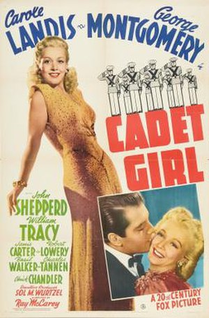 Cadet Girl - Theatrical release poster