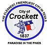 Official seal of Crockett, Texas