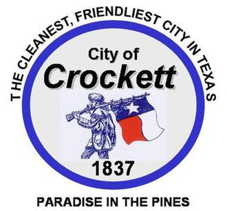 Crockett, Texas - Image: Crockett TX seal