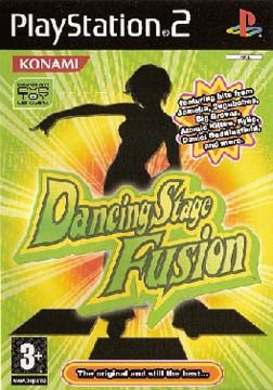 Cover art for Dancing Stage Fusion for the European PlayStation 2