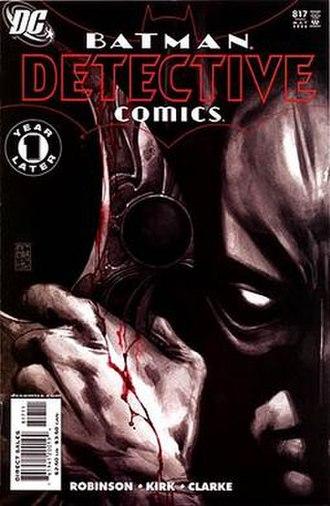 Batman: Face the Face - Image: Detective 817