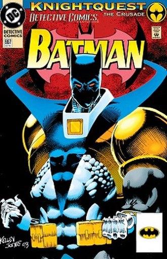Batman: Knightfall - Image: Detective Comics 667
