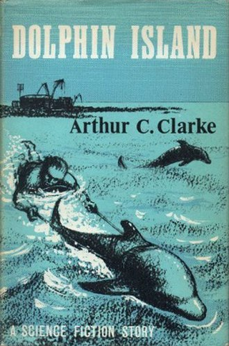 Dolphin Island (novel) - Cover of the first US edition
