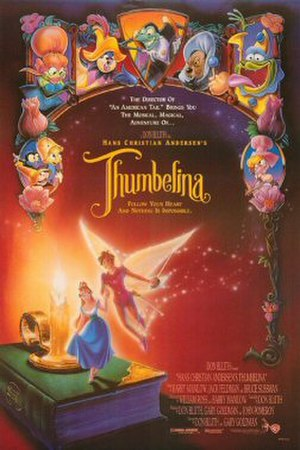Thumbelina (1994 film) - Original theatrical release poster by John Alvin.