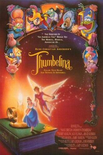 Thumbelina (1994 film) - Original theatrical release poster by John Alvin.