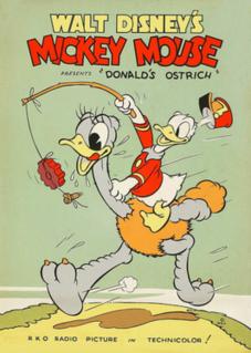 <i>Donalds Ostrich</i> 1937 Donald Duck cartoon