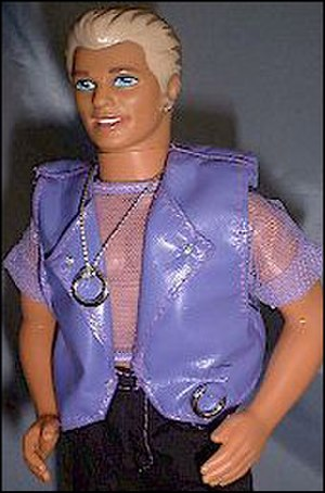 Earring Magic Ken - Earring Magic Ken, complete with accessory