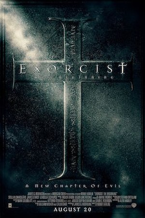 Exorcist: The Beginning - Theatrical release poster