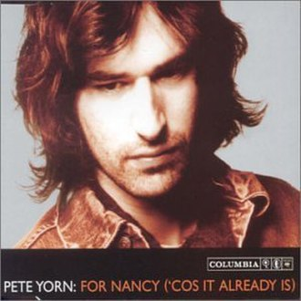 For Nancy ('Cos It Already Is) - Album Cover for Pete Yorn's For Nancy ('Cos It Already Is) (UK Single)