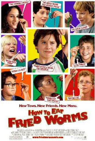 How to Eat Fried Worms (film) - Theatrical release poster