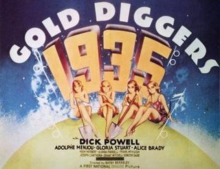 <i>Gold Diggers of 1935</i> 1935 film by Busby Berkeley