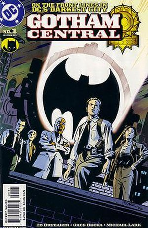 Gotham Central - Image: Gotham Central 1