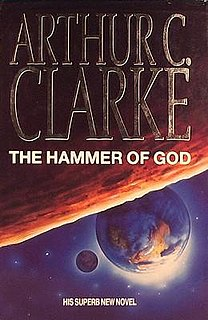 <i>The Hammer of God</i> (Clarke novel) book by Arthur C. Clarke