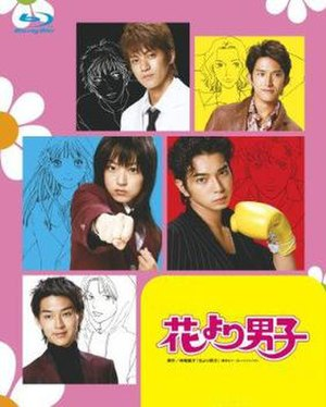 Hana Yori Dango (TV series) - Image: Hana Dan dvdcover