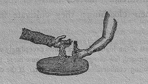 Thirlage - Image: Handquern 1