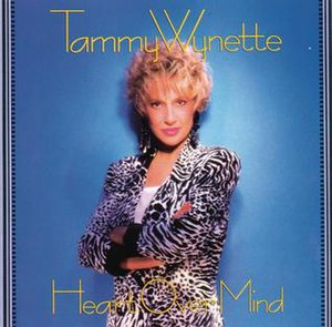 Heart Over Mind (Tammy Wynette album) - Image: Heart+Over+Mind 1