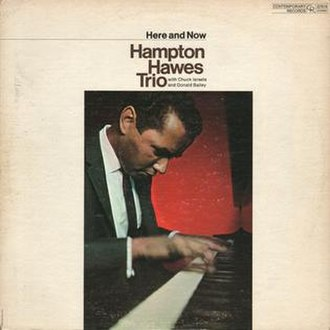 Here and Now (Hampton Hawes album) - Image: Here and Now (Hampton Hawes album)