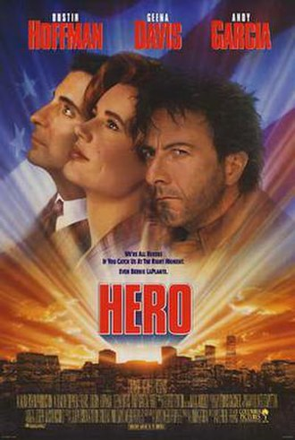 Hero (1992 film) - Theatrical release poster