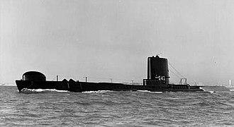 HMS Amphion (P439) - HMS Amphion (S43), modernised configuration, completed c. 1955-60